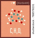 retro style scientific poster... | Shutterstock .eps vector #788578231