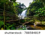 beautiful waterfall in northern ... | Shutterstock . vector #788584819