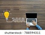 businessman working on laptop... | Shutterstock . vector #788594311