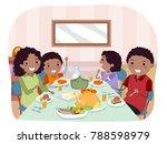 illustration of stickman...   Shutterstock .eps vector #788598979