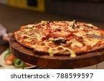 italian food  italian cuisine ...   Shutterstock . vector #788599597