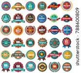 vintage retro vector logo for... | Shutterstock .eps vector #788600809