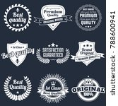 vintage retro vector logo for... | Shutterstock .eps vector #788600941