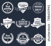 vintage retro vector logo for... | Shutterstock .eps vector #788600941