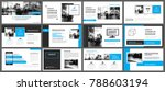 blue and white element for...   Shutterstock .eps vector #788603194