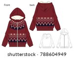 vector illustration of full zip ...   Shutterstock .eps vector #788604949