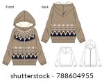 vector illustration of full zip ...   Shutterstock .eps vector #788604955