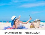 holiday vacation smart photo... | Shutterstock . vector #788606224