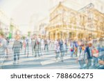 silhouettes of colorful people... | Shutterstock . vector #788606275