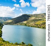 vineyards of the river douro... | Shutterstock . vector #788613601
