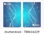 modern vector template for... | Shutterstock .eps vector #788616229