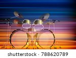 abstract blur music background... | Shutterstock .eps vector #788620789