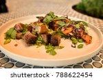 cafe  bistro  modern food ...   Shutterstock . vector #788622454