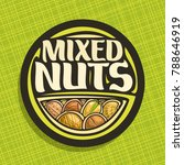 vector logo for nuts  circle... | Shutterstock .eps vector #788646919