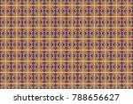 raster geometric background ... | Shutterstock . vector #788656627