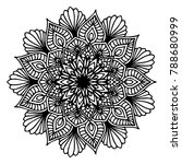 mandalas for coloring book.... | Shutterstock .eps vector #788680999