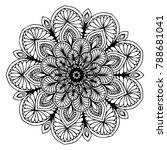 mandalas for coloring book.... | Shutterstock .eps vector #788681041