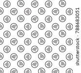 wifi icon vector illustration... | Shutterstock .eps vector #788683051