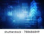 2d rendering stock market... | Shutterstock . vector #788686849