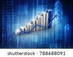 3d rendering stock market...   Shutterstock . vector #788688091