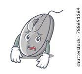 afraid mouse mascot cartoon... | Shutterstock .eps vector #788691364