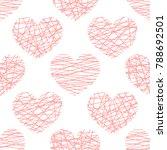 vector seamless pattern from...   Shutterstock .eps vector #788692501