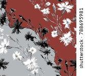 seamless pattern. abstract... | Shutterstock . vector #788695981