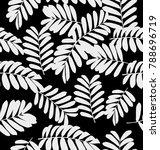 vector illustration of  black... | Shutterstock .eps vector #788696719