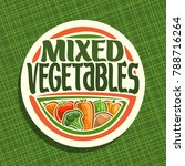 Vector Logo For Vegetables ...