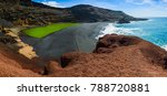 large panorama of volcanic...   Shutterstock . vector #788720881