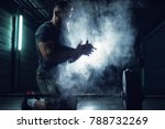 focussed hardworking active... | Shutterstock . vector #788732269
