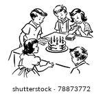 children's birthday party  ... | Shutterstock .eps vector #78873772