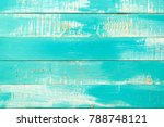 the blue old grunge plank... | Shutterstock . vector #788748121