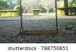 Old Weathered Rusty Swing Set...
