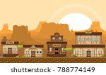 game level world element with... | Shutterstock .eps vector #788774149