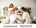 couple having a fun while... | Shutterstock . vector #788782969