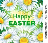 greeting card  floral... | Shutterstock .eps vector #788789191