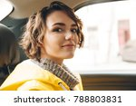 image of pretty young lady...   Shutterstock . vector #788803831