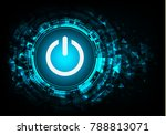 vector technology switch design. | Shutterstock .eps vector #788813071