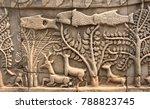Wall Carving Of Prasat Bayon...