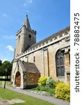 Traditional English Church And...