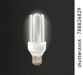 light realistic luminescence... | Shutterstock .eps vector #788826829