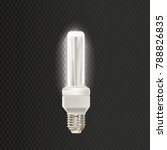 light realistic luminescence... | Shutterstock .eps vector #788826835