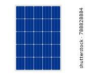 solar panel sign   Shutterstock .eps vector #788828884
