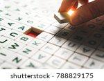 problem solving  creative... | Shutterstock . vector #788829175