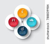 vector circle infographic....   Shutterstock .eps vector #788839984