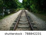 old railroad tracks that dead... | Shutterstock . vector #788842231