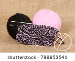 beginning of knitting of a... | Shutterstock . vector #788853541