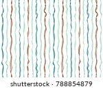 colored curved stripes vertical ... | Shutterstock .eps vector #788854879
