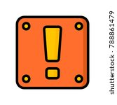 video games   alert block   | Shutterstock .eps vector #788861479